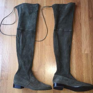 Stuart Weitzman Over the Knee Boots - Size 10